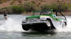 The Panther WaterCar by Jeep! I... would kill for this car!!!!!!!