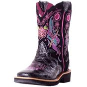 Ariat KIDS Showbaby Rocker - I have the exact same pair Mom-N-Me boots - lame or awesome?