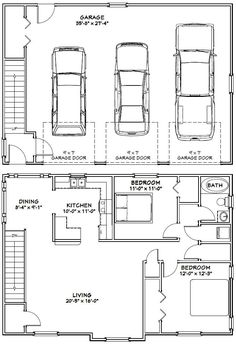 Sq Ft Bedroom Cottage Plans Bedrooms Baths Sq Ft