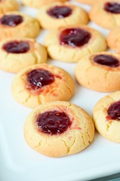 Jam drop biscuits are an old-fashioned childhood favourite! Soft and buttery vanilla biscuits topped with a sweet raspberry jam filling, these easy cookies are made with only 6 easy pantry ingredients and can be ready in 20 minutes. These jam drops make the perfect sweet afternoon tea treat to share with a cuppa.