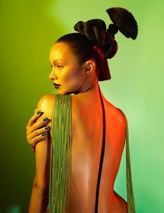 Lais Ribeiro Numero Russia Enrique Vega Beauty Editorial   Page 2