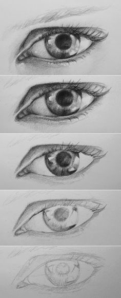 colored eye drawings - Google Search