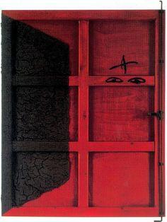 Tapies, Antoni (1923-2012) - 1995 Red Door (Private Collection) by RasMarley, via Flickr