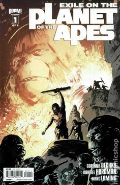 Exile on the Planet of the Apes (2012 Boom) 1A Comic book covers