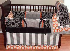 orange infant bedding | Baby Bedding - $299.00 : Boy Baby Bedding Crib Sets, Custom Girl Baby ...