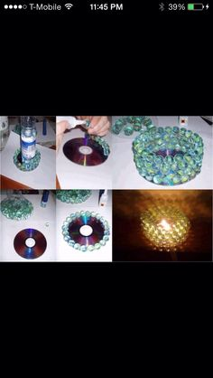 How To Make A Candle Decor