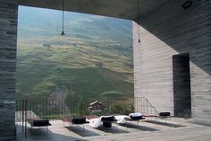 Peter Zumthors architecture, Vals, Switzerland