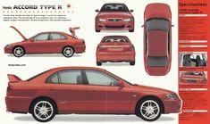 Honda Accord Type R 1998 Spec Sheet
