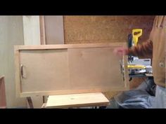 ▶ How to make a sliding cabinet faceplate and door - YouTube