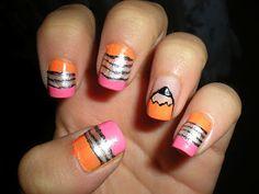 pencil nails