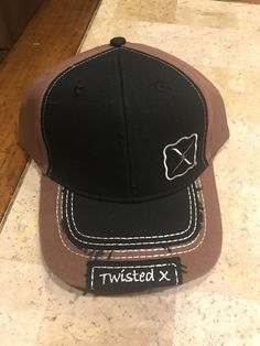 2558d3fa06142 Details about Twisted X Hat Cap wih Logo XC-17
