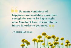 -Thich Nhat Hanh