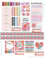 Tons of planner sticker sets, including a Scripture/prayer set!