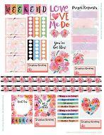 Tons of planner sticker sets, including a Scripture/prayer set!