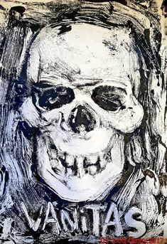 #Halloween Special: my first #monotype #print