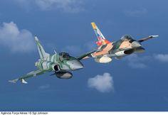 Força Aérea Brasileira (Brazilian Air Force) Brazil e Venezuela Aeronaves F-5EM da Força Aérea Brasileira e F-16A da Força Aérea Venezuelana voando juntos na Operação CRUZEX.   Flickr - Photo Sharing!