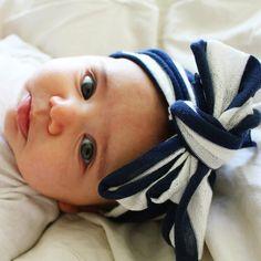 Nautical Baby Turban Headband by CustomKidsAZ, $8.00