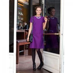 Robe étui n°106 de Burda Style Janvier 2013