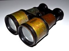Antique Early 1900s BUSCH Jena Special BINOCULARS Made in Germany WW1 Extremely rare.