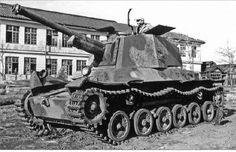 "nwobhmjp: "" Imperial Japanese Army Medium Tank Type 3 ""Chi-Nu"" """