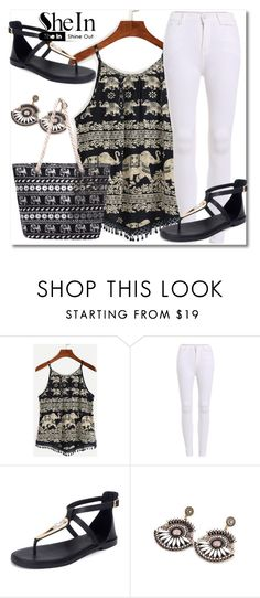 """""""9/10 shein"""" by fatimka-becirovic ❤ liked on Polyvore"""
