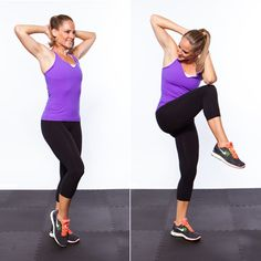 Standing Crunches