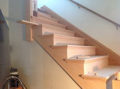 Best Red Oak Staircase With Lj4091 Box Newels And Baird 640 x 480