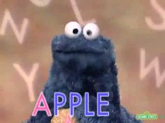 Sesame Street - Cookie Monster's Letter of the Day - A - YouTube Phonics Videos, Phonics Song, Alphabet Video, Alphabet Letters, Sesame Street Letters, Sesame Street Cookies, Kindergarten Songs, Letter Games
