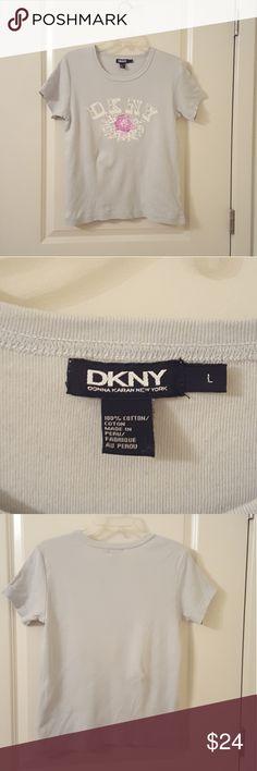 Blue/grey DKNY shirt Blue/grey DKNY short sleeve  shirt Dkny Tops Tees - Short Sleeve