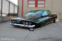 """Dr. """"Greenthumb"""" from Lifestyle lowrider car club..."""