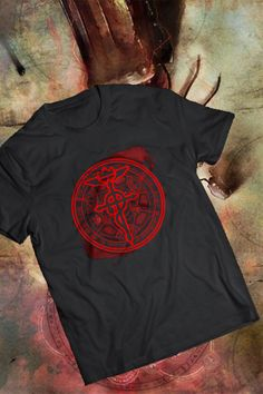 Check out this wonderful Fullmetal alchemist T-shirt we found on Amazon.