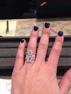 Tiffany Soleste Emerald Cut 1.15 ct vs 1.3 ct