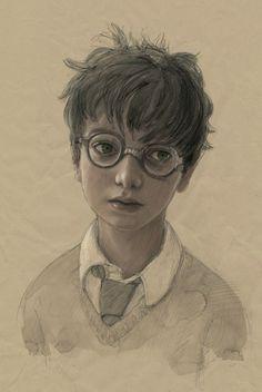 La réédition illustrée du premier tome d'Harry Potter  - by © Jim Kay