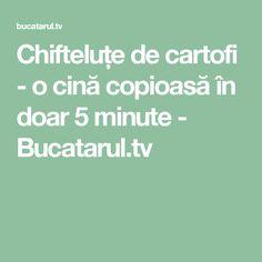 Chifteluțe de cartofi - o cină copioasă în doar 5 minute - Bucatarul.tv Salads
