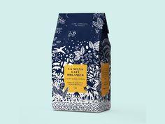La Selva Café on Packaging of the World - Creative Package Design Gallery Food Packaging Design, Coffee Packaging, Coffee Branding, Packaging Design Inspiration, Brand Packaging, Product Packaging Design, Rice Packaging, Chocolate Packaging, Beverage Packaging