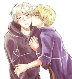 Hetalia England and Prussia