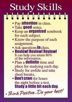Poster Study Skills