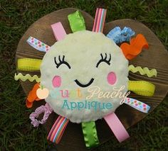 Just Peachy Applique_In The Hoop Sunshine