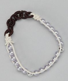 Take a look at this White & Lavender Pearl Stretch Bracelet by LA Rocks on #zulily today! find glass pearls at http://www.ecrafty.com/c-595-glass-pearls.aspx