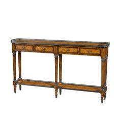 Louis XVI Long Narrow Console