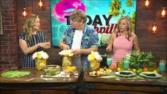 Vance Nichols from Fontanel shows fun and easy party ideas when you want to feel like you at the beach but are hundreds of miles away during Today in Nashvil. Tropical Party, On Today, Nashville, Party Ideas, Make It Yourself, Drink, Cooking, Youtube, Fun