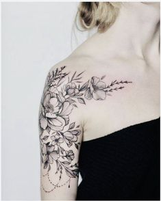24 Gorgeous Botanical Tattoos by Anna Botyk Half Sleeve Floral Tattoo by Anna Bo… – tattoos for women half sleeve Tattoos For Women Small Meaningful, Best Tattoos For Women, Tattoos For Women Half Sleeve, Trendy Tattoos, Small Tattoos, Tattoos For Guys, Half Sleeve Women, Tattoo Girls, Tattoo Designs For Girls