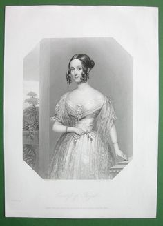 Queen Victoria Court Beauty Countess of Fingal