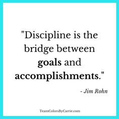 Jim Rohn on #Discipline