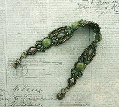 Linda's Crafty Inspirations: Birthday Bracelet #2 - Laurel