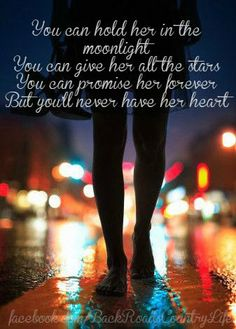 As much as it pains me to say this... This is exactly me.  Maybe someday I can give my entire heart to someone; but at this point, it's far to fragile for me to let someone else even get the slightest glance.