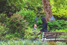 A sweet, garden proposal! #engagement #howheasked #love