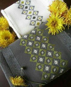 Drawn Thread, Thread Work, Bargello Needlepoint, Palestinian Embroidery, Straight Stitch, Embroidery Art, Blackwork, Couture, Tatting