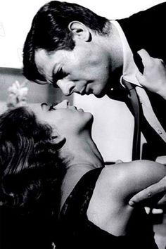 Jeanne Moreau & Marcelo Mastroiani  La Notte, Antonioni, 1959