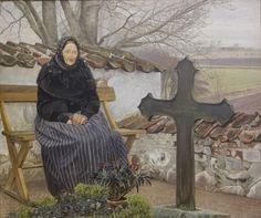 L. A. Ring: Churchyard at Fløng
